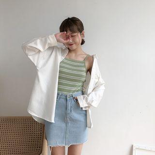 🚚 Striped Sleeveless Top