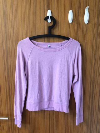 Uniqlo Pink Long Sleeve Top
