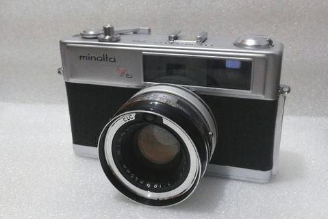 著名古典Minolta Hi-Matic 7s菲林機