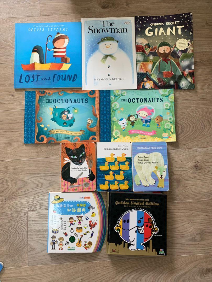 10本兒童書 (適合3至6歲)