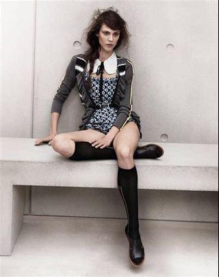 全新 Marni x H&M long stripe print socks 間條長襪