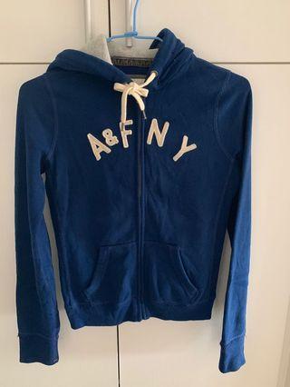A&F 深藍棉外套
