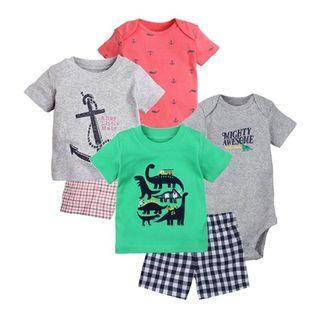 3Pcs Baby Boy Set