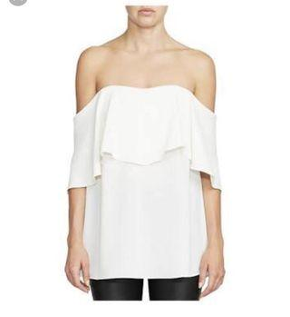Camilla and Marc Off the shoulder top