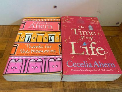 Cecelia Ahern The time of my life, thanks for the memories