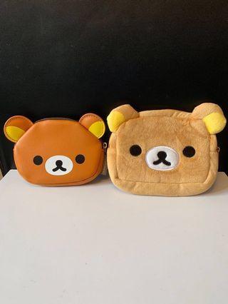 鬆弛熊散紙包兩個