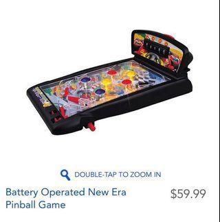 Battery Operated New Era Pinball Game