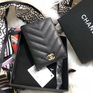 Highest🛍Chanel flip Card Case