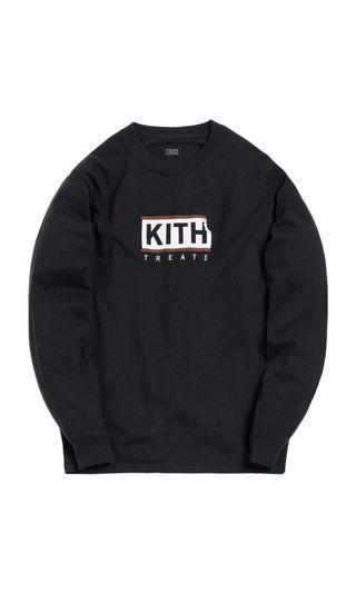 🚚 Kith Treats L/S Size S Black