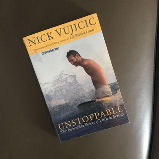 SIGNED Nick Vijicic Unstoppable