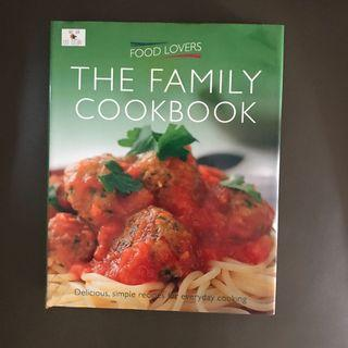 Hardcover The Family Cookbook