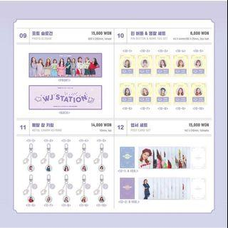 WTB WJSN Ujung 2nd Fanmeeting WJ Station Merchandise
