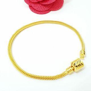 916 Gold Bracelet Instock