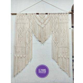 💥Rental Macrame Backdrop/ Extra Large Macrame Wall Hanging💥