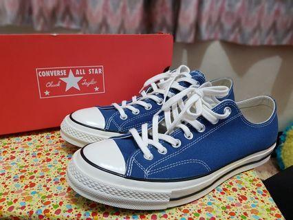 ⏺️CONVERSE 70S LOW BLUE NAVY⏺️