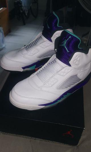 b418dbec900dcb Air Jordan 5 Retro Grape Fresh Prince