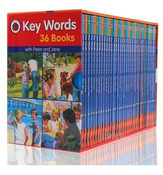 <Ladybird> Key Words Sight Words 國際學校教材分級閱讀 全套36冊