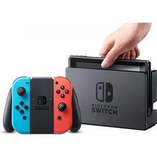 SALE BNIB LOCAL SET Nintendo Switch Console - Neon / Grey