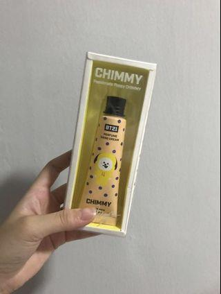 bt21 chimmy perfume handcream