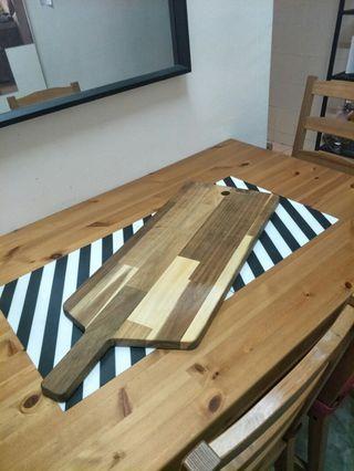 Chopping board or tray wood ikea