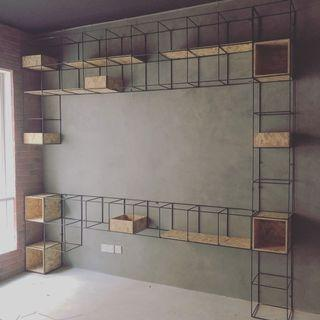 Shelving and storage rack