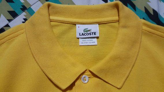 Original Lacoste Polo Shirt