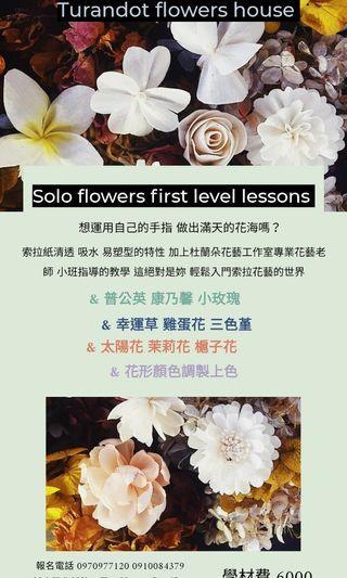 索拉花初階花形課程