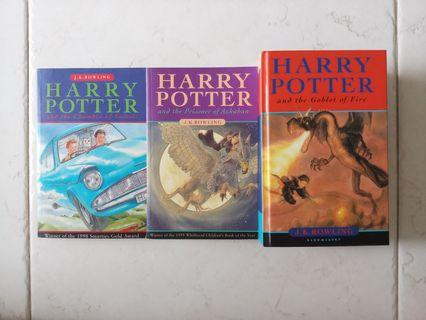 🚚 Harry Potter and the Chamber of Secrets & Harry Potter and the Prisoner of Azkaban & Harry Potter and the Goblet of Fire