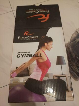 🚚 Gym Ball (Fitness Concept, Antiburst Gym Ball)