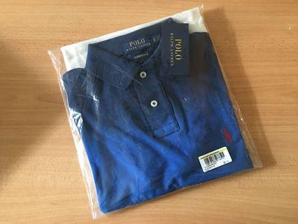 🚚 Polo Ralph Lauren polo slim fit shirt (BLUE MULTI)