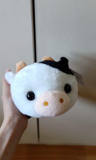 Raburi Cow Stuffed Toy