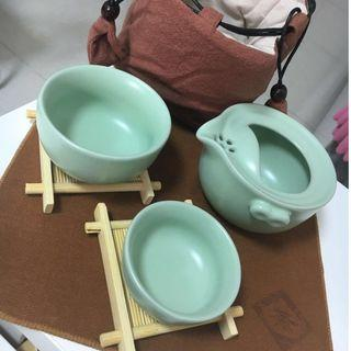 Chinese Tea Set with Box