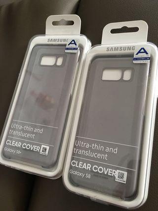 Samsung Original Galaxy S8 S8+ Clear Cover