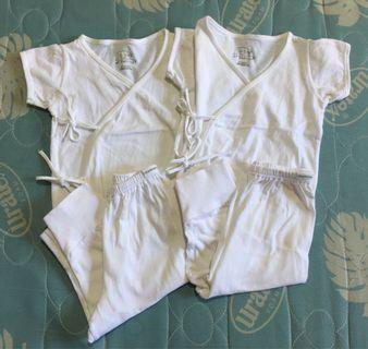 St. Patrick Side-Tie Short Sleeves Pajamas
