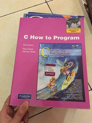 C how to Program sixth edition