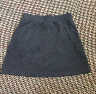 BNIB Grey Knitted A-Lined Skirt #ENDGAMEyourEXCESS