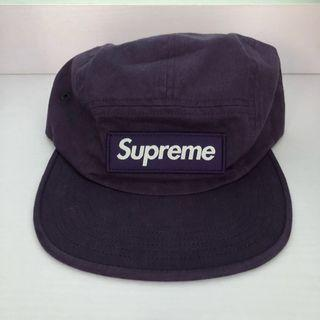 fe1f3004db6 Supreme Purple Military Camp Cap