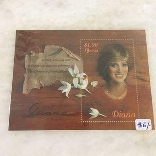 🚚 Diana stamp