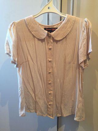 Princess Highway Cream Blouse