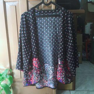 Import batik outwear/cardigan