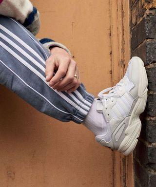 Adidas YUNG-96 復古老爹鞋 | 奶油底