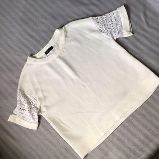 SEED Lace Sleeves Top