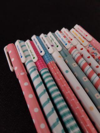 Kaison Colourful Ball Pen Pastel Cute Designs