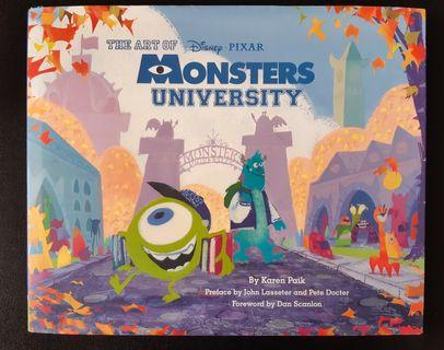 Monster University Origibal Artbook