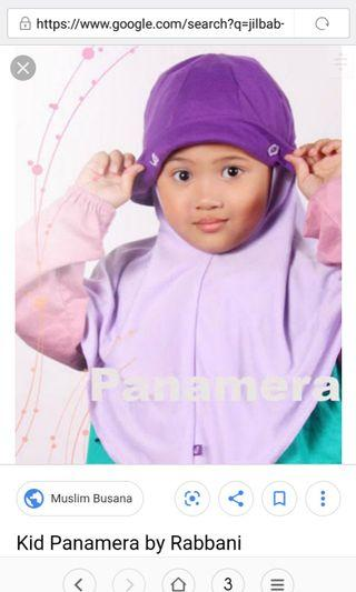 Preloved hijab anak rabbani