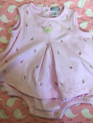 Carters onesie dress