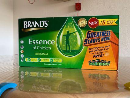 🚚 Brands Essence Of Chicken - 18 bottle packs