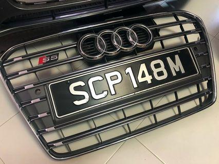 🚚 Audi S5 Front Grille for A5 and S5 B8.5 model