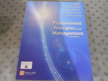🚚 Procurement Principles and Management 10th Editions.
