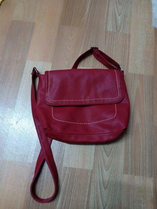 Dark maroo. Sling bag